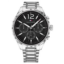 Tommy Hilfiger Gavin Black Chronograph Dial Bracelet Watch 1791469