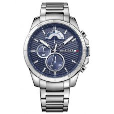 Tommy Hilfiger Decker Stainless Steel Blue Dial Bracelet Watch 1791348