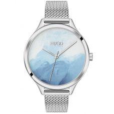 HUGO Ladies Smash Silver Watch 1540061