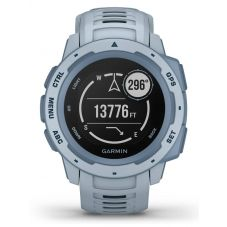 Garmin Instinct Sea Foam Blue Rubber Strap Smartwatch 010-02064-05