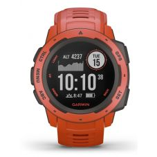Garmin Instinct Flame Red Rubber Strap Smartwatch 010-02064-02