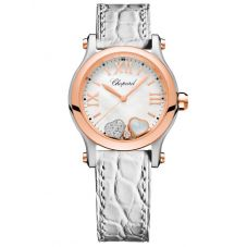 Chopard Happy Hearts Mother of Pearl and Diamond Watch 278590-6005