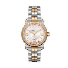 Chopard Happy Sport Two Tone Bracelet Watch 278608-6002