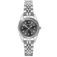 Sekonda Ladies Grey Dial Crystal Bracelet Watch 2831