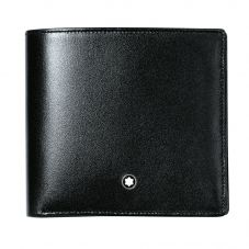 Montblanc Meisterstuck Black Leather 8cc Wallet 7163