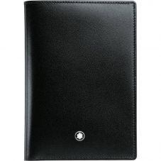 Montblanc Meisterstuck Black Leather Wallet 4cc 11987