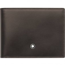 Montblanc Meisterstuck Brown Leather Wallet 6cc 118294