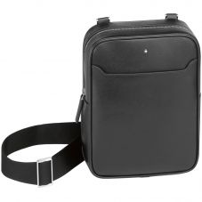 Montblanc Sartorial North South Black Leather Bag 113189