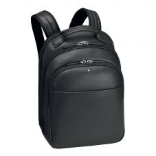 Montblanc Sartorial Small Black Leather Backpack 114584