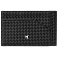 Montblanc Extreme 2.0 Black Pocket Cardholder With Zip 123956
