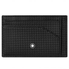 Montblanc Extreme 2.0 Black Pocket Cardholder 123957