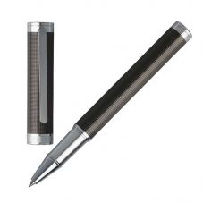 BOSS Column Dark Chrome Rollerball Pen HSW6515