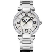 Chopard Imperiale Silver Diamond Bezel Bracelet Watch 388532-3004