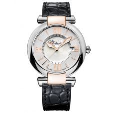 Chopard Imperiale Mother Of Pearl Leather Strap Watch 388532-6001