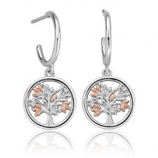 Clogau Tree of Life Drop Earring 3SNTLCDE
