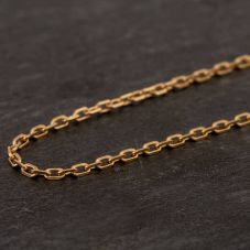 Second Hand 9ct Yellow Gold Trace Chain Necklace