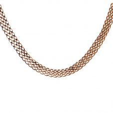 "Second Hand 9ct Yellow Gold 16"" Triple Curb Chain F606011(446)"