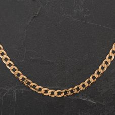 "Second Hand 9ct Yellow Gold 20"" Curb Chain"