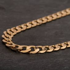 """Second Hand 9ct Yellow Gold 18"""" Curb Chain HGM43/01/06(10/19)"""