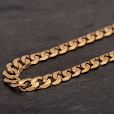 "Second Hand 9ct Yellow Gold 18"" Curb Chain HGM40/01/07(08/19)"