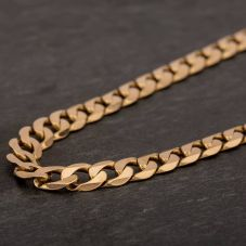 "Second Hand 9ct Yellow Gold 20"" Curb Chain HGM41/01/5(09/19)"