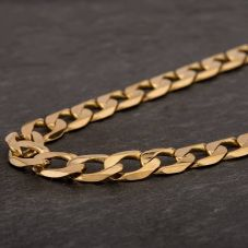 "Second Hand 9ct Yellow Gold 24"" Curb Chain HGM41/01/4(09/19)"