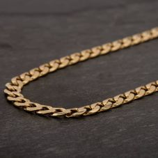 "Second Hand 9ct Yellow Gold 24"" Curb Chain HGM42/03/06(09/19)"