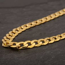 "Second Hand 9ct Yellow Gold 20"" Curb Chain HGM43/04/07(10/19)"