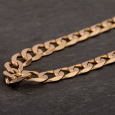 "Second Hand 9ct Yellow Gold 20"" Curb Chain HGM43/04/08(10/19)"