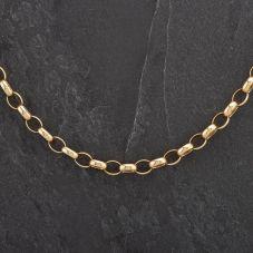 Second Hand 9ct Yellow Gold 22 inch Belcher Chain 4104276