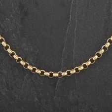 Second Hand 9ct Yellow Gold 32 inch Belcher Chain 4104282