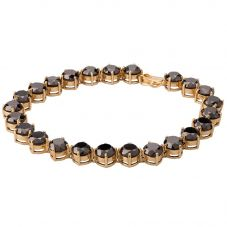 Second Hand Treated Black Diamond Bracelet