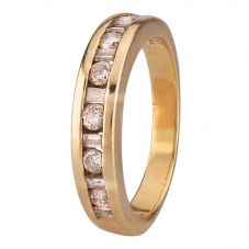 Second Hand Baguette and Brilliant Diamond Eternity Ring