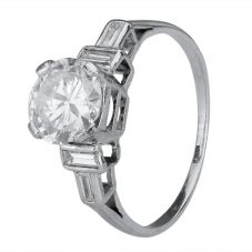 Second Hand 1.38ct Diamond Solitiare Ring