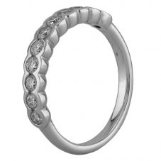 Second Hand 0.60ct Diamond Half Eternity Ring