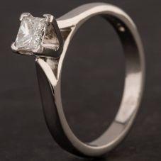 Second Hand Platinum Diamond Ring 4112863