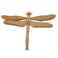 Second Hand 9ct Yellow Gold Dragonfly Brooch