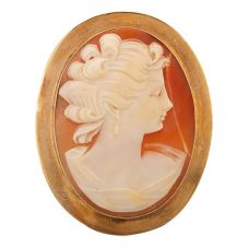 Second Hand Large Cameo Brooch N516968(456)