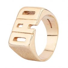 Second Hand 9ct Yellow Gold 'Dad' Ring HGM26/03/12(04/19)