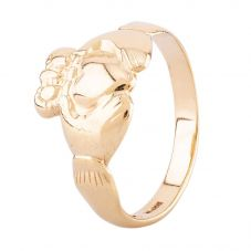 Second Hand 9ct Yellow Gold Claddagh Ring HGM38/03/12(08/19)