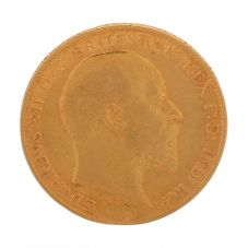 Second Hand 22ct Yellow Gold 1910 King Edward VII Half Sovereign Coin UNKNOWN(07/10/19) 4130162