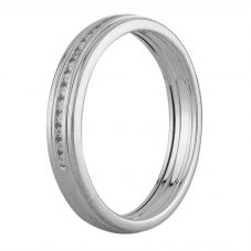 Second Hand 18ct White Gold Diamond Half Eternity Ring L511549(445)