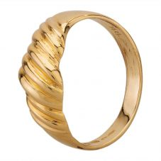 Second Hand Yellow Gold Fancy Twist Ring D.380247(392)