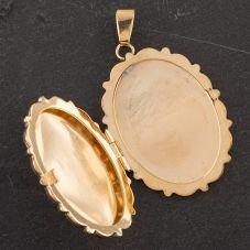 Second Hand Oval Locket 4166419