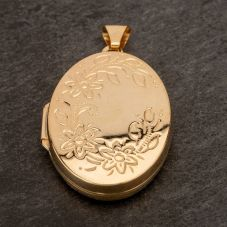 Second Hand Oval Locket 4166450