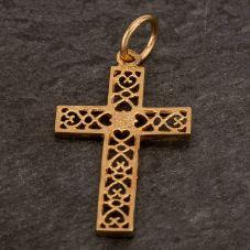 Second Hand Fancy Hearts Cross Loose Pendant
