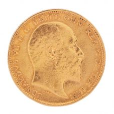 Second Hand 22ct Yellow Gold 1904 King Edward VII Full Sovereign Coin D0511709(453) 4170026