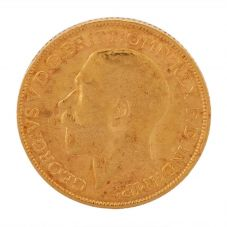 Second Hand 22ct Yellow Gold 1911 King George V Full Sovereign Coin F606091(455) 4170029
