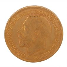 Second Hand 22ct Yellow Gold 1912 King George V Full Sovereign Coin UNKNOWN(07/10/19) 4170033