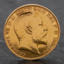 Second Hand 1906 King Edward Vii Full Sovereign Coin